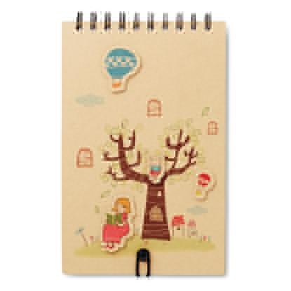 Immagine di MO8667 MAGGY - Quaderno per disegnare con 12