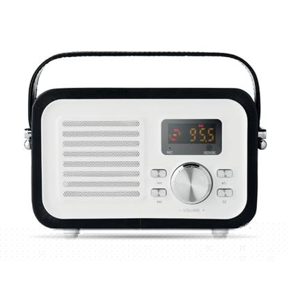 Immagine di MO9274 LOUISIANA - Cassa speaker retro bluetooth