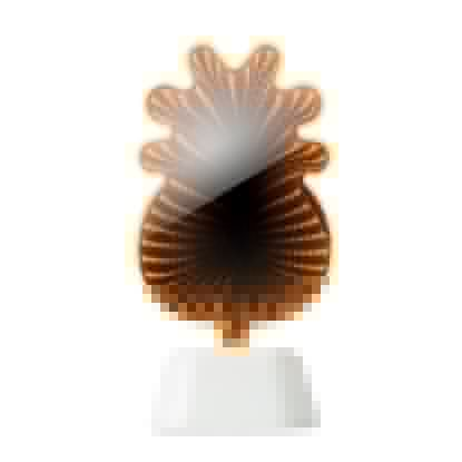 Immagine di MO9465 ANANAS - Specchio led a forma di ananas