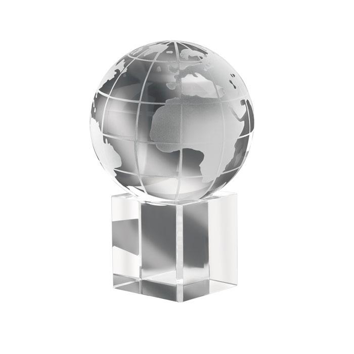 Immagine di IT1537 MUNDI - Fermacarte in vetro