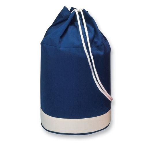Immagine di IT1639 YATCH - Sacca navy bicolore. in cotone