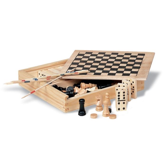 Immagine di KC2941 TRIKES - Set giochi 4in1 in legno
