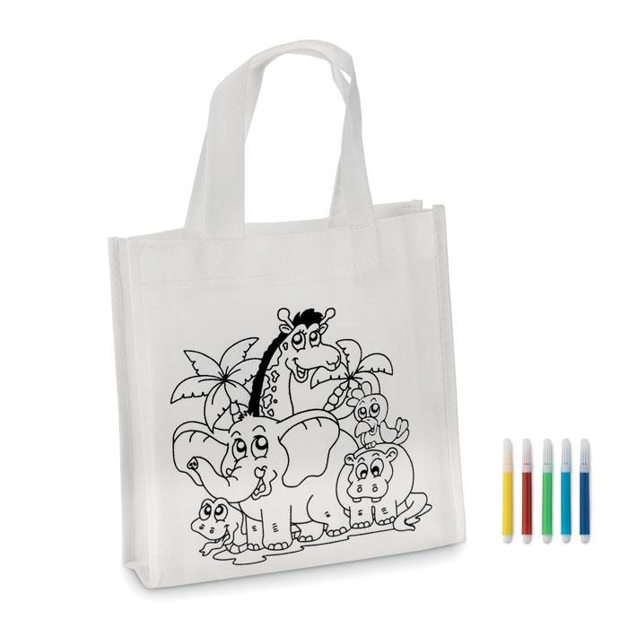 Immagine di MO8922 SHOOPIE - Mini borsa shopper da colorare