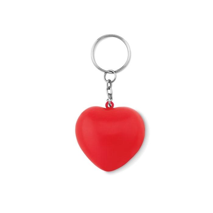 Immagine di MO9210 LOVY RING - Portachiavi cuore in pu