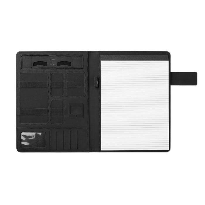 Immagine di MO9232 POWERFOLDY - Porta blocco a4 con powerbank