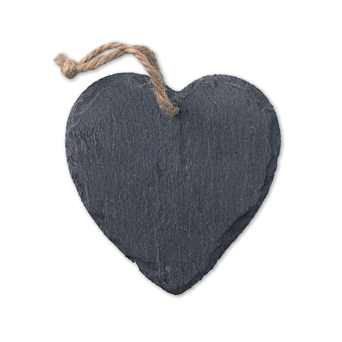 Immagine di MO9359 SLATEHEART - Decorazione a forma di cuore