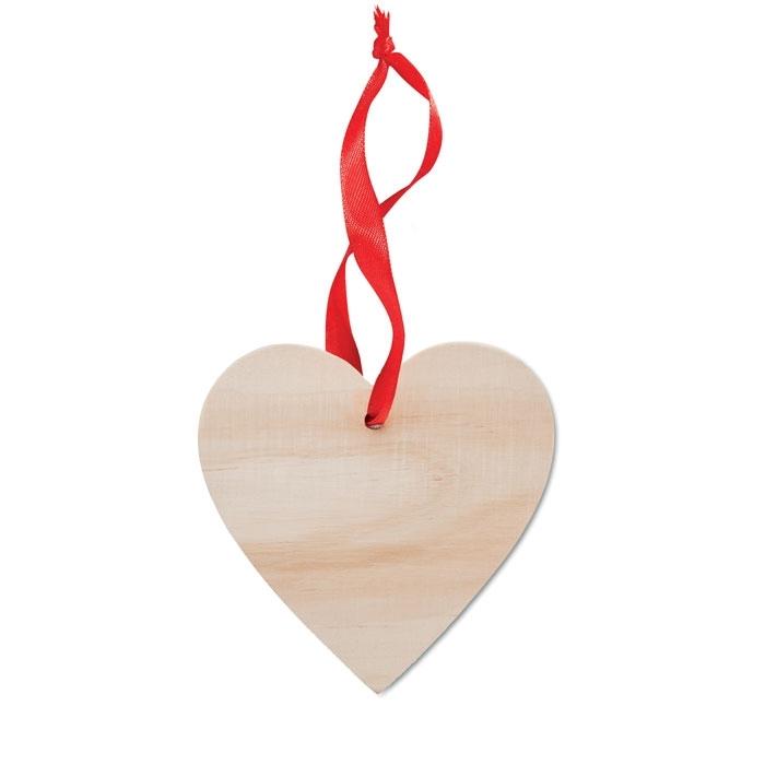 Immagine di MO9376 WOOHEART - Decorazione a forma di cuore