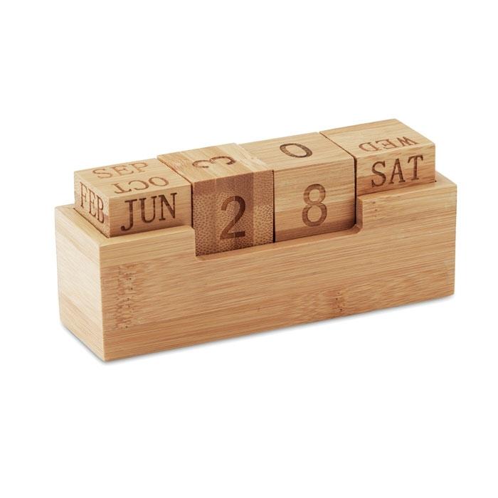 Immagine di MO9404 KARENDA - Calendario in bamboo