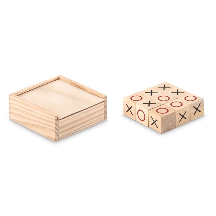 Immagine di MO9493 TIC TAC TOE - Gioco del tris in legno