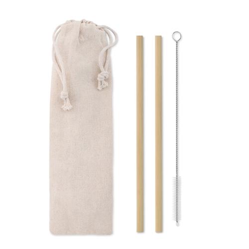 Immagine di MO9630 NATURAL STRAW - Cannucce in bamboo