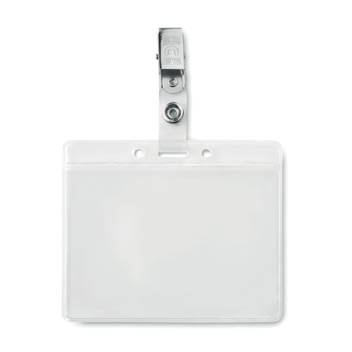 Immagine di MO9642 CLIPBADGE - Porta badge in pvc