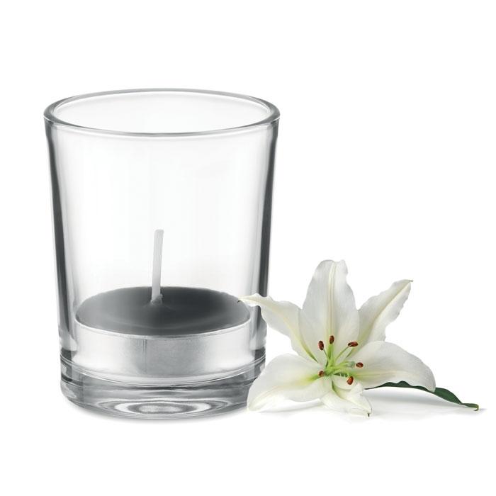 Immagine di MO9734 TRANSPARENT - Porta candela in vetro