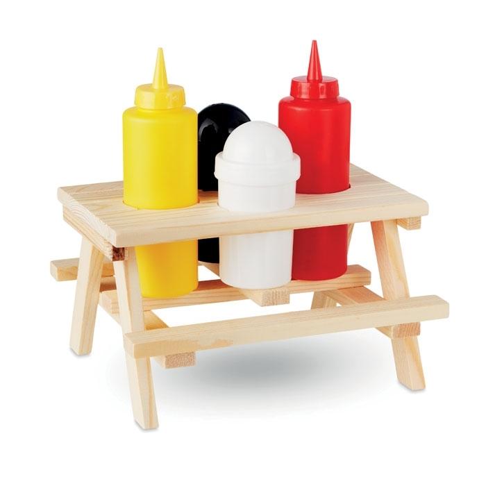 Immagine di MO9803 PICSAUS - Set 4 pezzi per condimenti