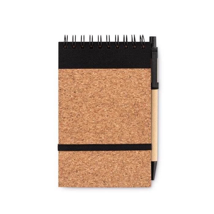 Immagine di MO9857 SONORACORK - Notebook a6 in sughero c/penna