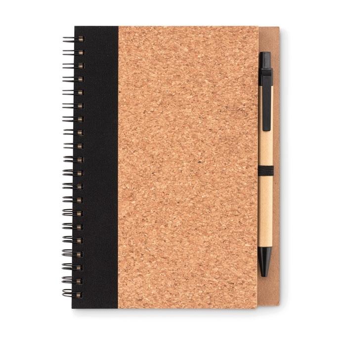 Immagine di MO9859 SONORA PLUSCORK - Notebook in sughero c/penna