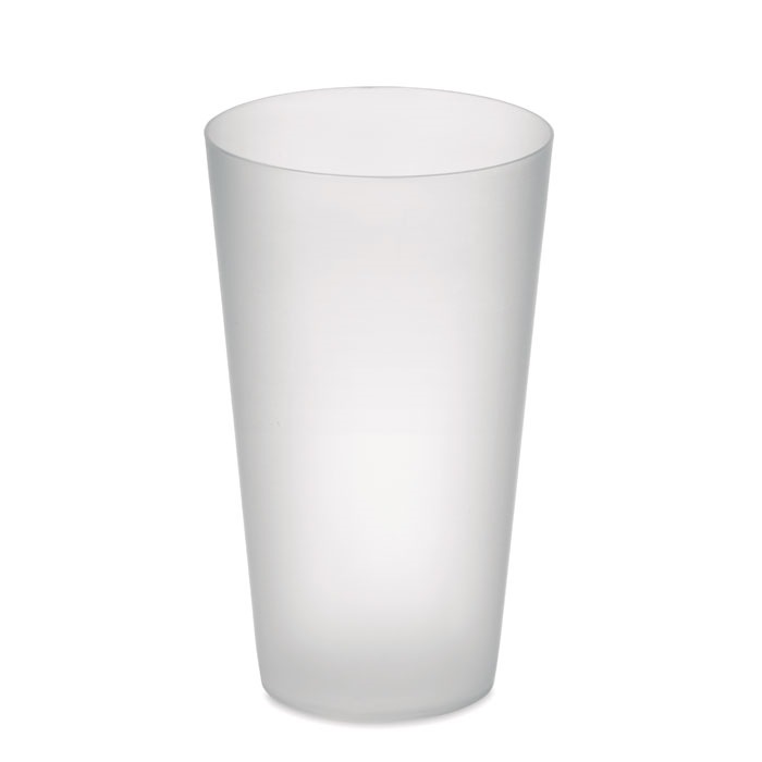 Immagine di MO9907 FESTA CUP - Frosted pp cup 550 ml