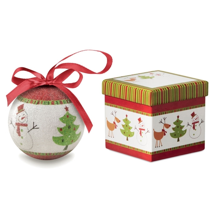 Immagine di CX1438 SWEETY - Palla di natale in scatola