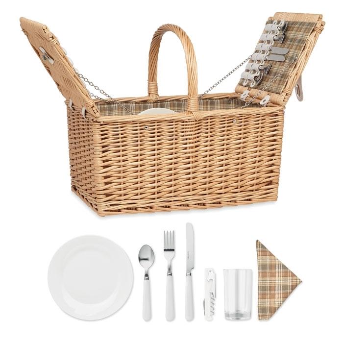 Immagine di MO6194 MIMBRE PLUS - Cestino da picnic per 4 persone