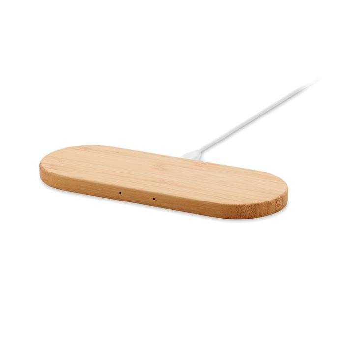 Immagine di MO9842 MUARA - Caricatore wireless in bamboo